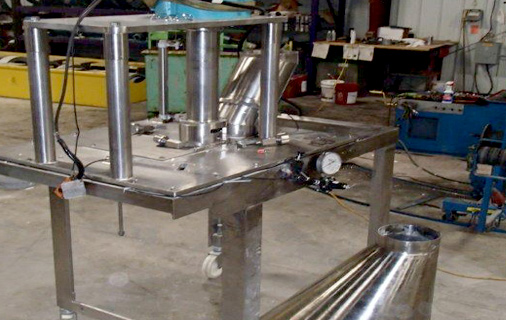 Stainless manufacturing of food equipment
